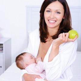 Διατροφή της θηλάζουσας μητέρας