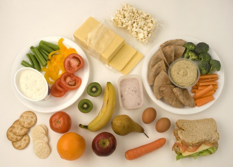 Υγιεινά μικρογεύματα (σνακς) για παιδιά