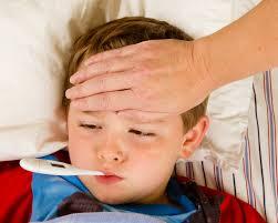 Υψηλή θερμοκρασία (πυρετός) στα παιδιά