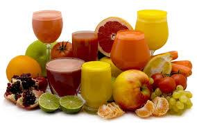 Χυμοί, φρούτα και νερό