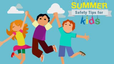Πώς να κρατήσετε ασφαλή τα παιδιά το καλοκαίρι